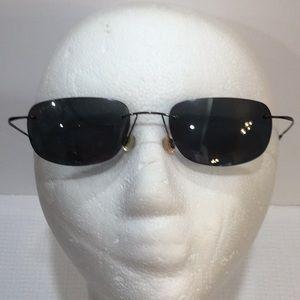 Rare!  Maui Jim Titanium sunglasses MJ 502-02